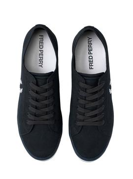 Zapatillas Fred Perry Kingston Twill Azul Marino