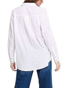 Camisa Only Carry Blanco para Mujer