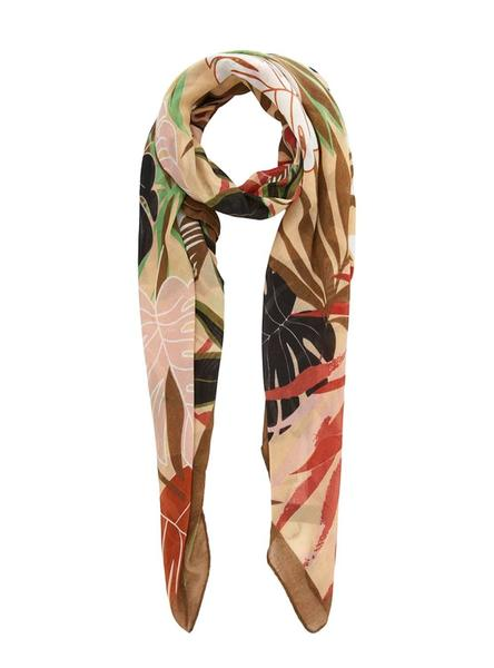 Foulard Pieces Canne Camel para Mujer