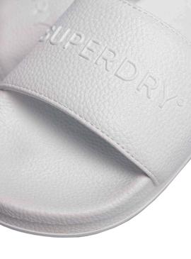 Chanclas Superdry Arizona Platform Blanco Mujer
