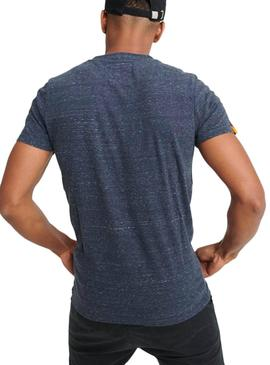Camiseta Superdry Vintage Embroidery Azul Hombre