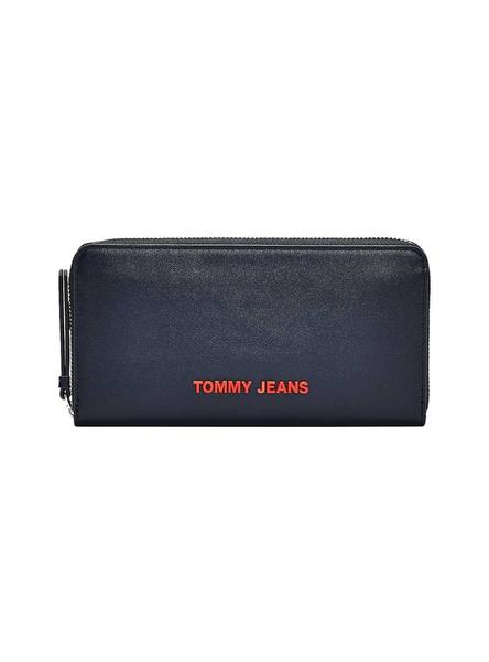 Billetera Tommy Jeans New Modern Azul para Mujer
