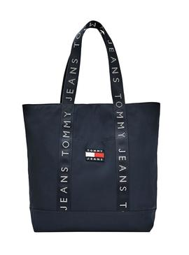 Bolso Tommy Jeans Heritage Azul para Mujer