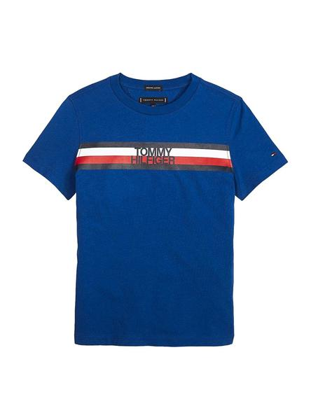 Camiseta Tommy hilfiger Essential Global Stripe