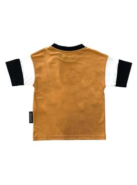 Camiseta Rompiente Clothing Rio Peach Kids