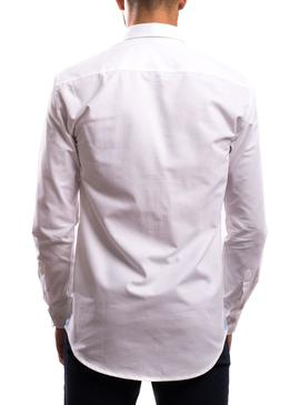 Camisa Klout Oxford Blanco para Hombre