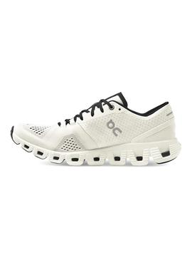 Zapatillas On Running Cloux X White Black Mujer
