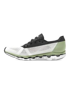 Zapatillas On Running Cloud Boom White Black Mujer