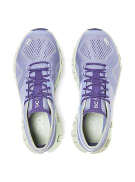 Zapatillas On Running Cloud X Lavender Ice Mujer
