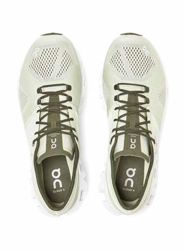 Zapatillas On Running Cloud X Aloe White Hombre