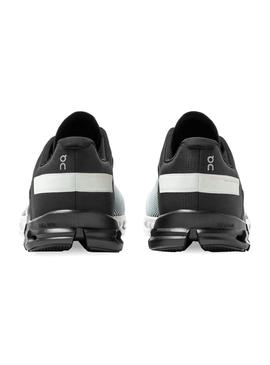 Zapatillas On Running CloudFlow Black White Hombre