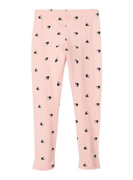 Leggings Name It Minnie Rosa para Niña