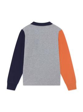 Polo Hackett Color Block Multicolor para Niño