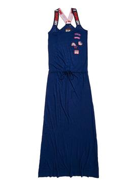 Vestido Superdry Tri Colour Maxi