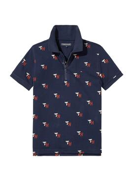 Polo Tommy Hilfiger Sporty Printed Zip