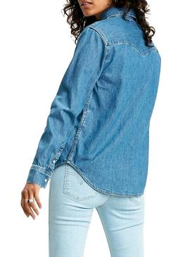 Camisa Levis Going Stady Denim para Mujer