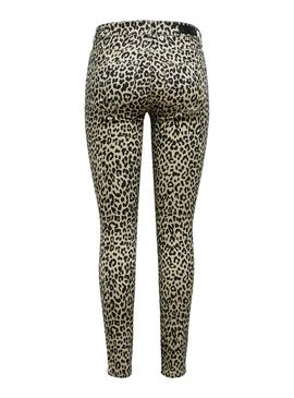 Pantalon Only Animal Print para Mujer