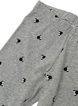 Leggings Name It Minnie Kids Gris Para Niña
