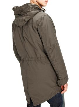 Parka Jack and Jones JJblake Verde