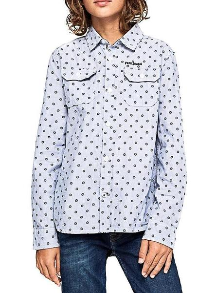 Camisa Pepe Jeans Russel Azul