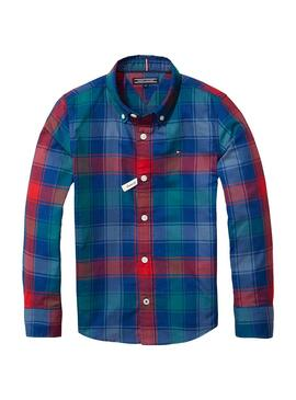 Camisa Tommy Hilfiger Check Multicolor