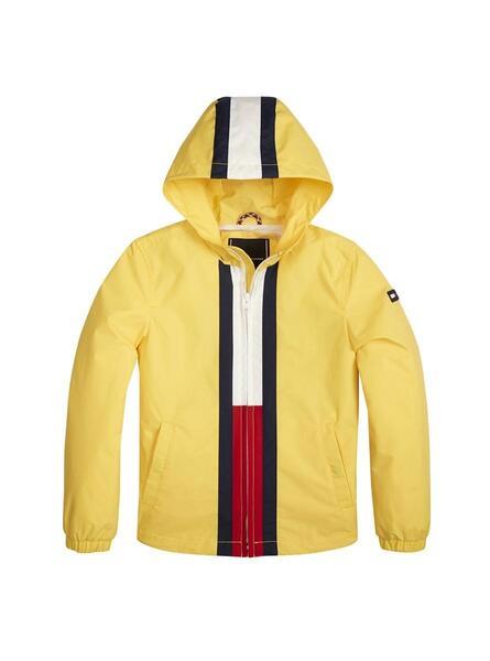Tommy Hilfiger U Flag Tommy Jacket Chaqueta para Ni/ños