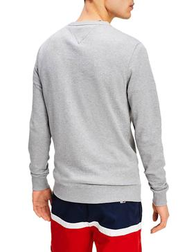 Sudadera Tommy Jeans Graphic Gris para Hombre
