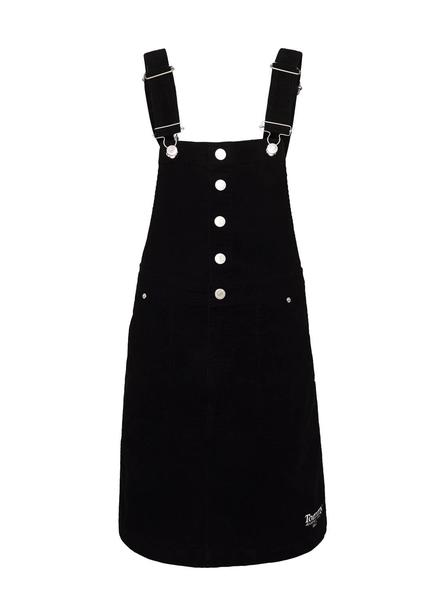 Peto Tommy Jeans Dungaree Negro para Hombre
