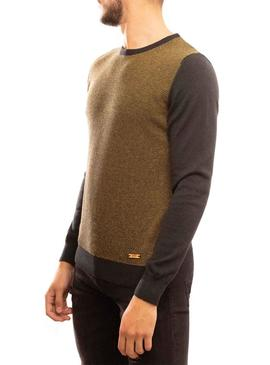 Jersey Klout Microjacard Mostaza para Hombre