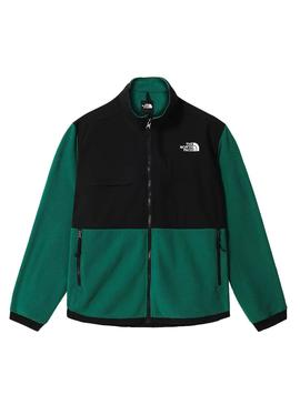 Cazadora The North Face Denali 2 Verde Hombre