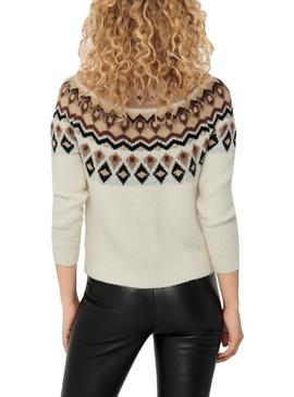 Jersey Only Lamber Beige para Mujer