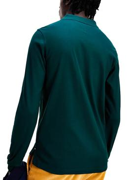 Polo Tommy Hilfiger Luxury Stretch Verde Hombre