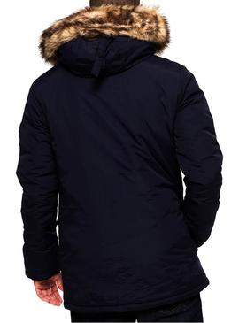 Parka Superdry Everest Azul