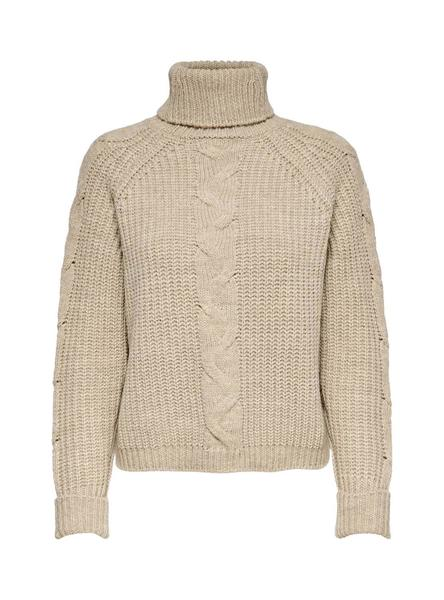 Jersey Only Daisy Beige para Mujer