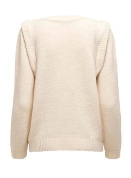 Jersey Only Sunflower Beige para Mujer