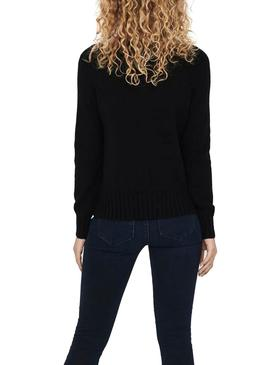 Jersey Only Sandy Negro para Mujer