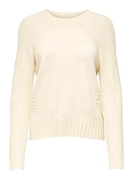 Jersey Only Sandy Beige para Mujer