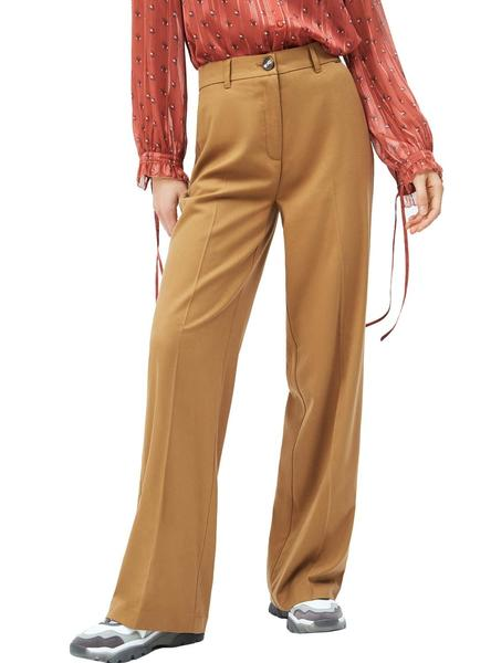 Pantalones Pepe Jeans India Camel Para Mujer