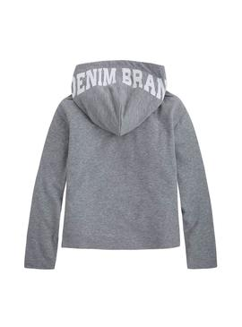 Sudadera Pepe Jeans Sol Gris Mujer
