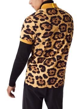 Polo Lacoste x National Geographic Leopard Hombre