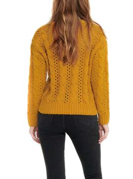 Jersey Only Chanet Amarillo para Mujer