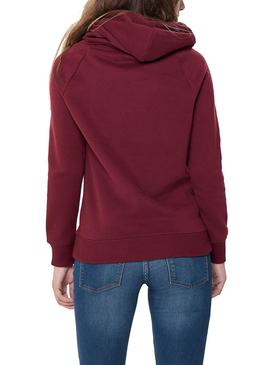 Sudadera Only Jasmin Granate