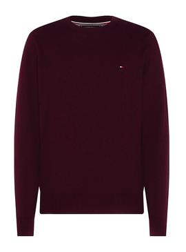 Jersey Tommy Hilfiger Crew Neck Granate Hombre