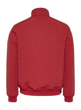 Chaqueta Tommy Jeans Essential Rojo para Hombre