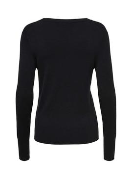 Jersey Only Venice Negro Para Mujer