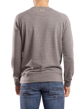 Sudadera Klout Organic Patch Gris