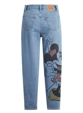 Pantalon Vaquero Levis X Disney Boyfriend De Mujer