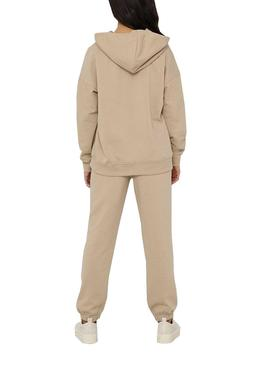 Sudadera Only Feel Beige para Mujer