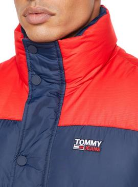 Chaleco Tommy Jeans Puffa Azul para Hombre