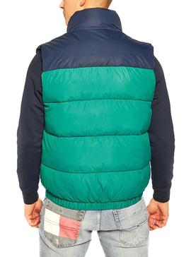 Chaleco Tommy Jeans Corp Puffa Turquesa Hombre
